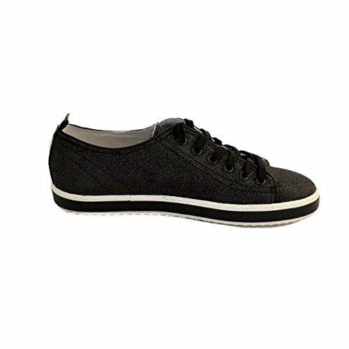 Das Dentro E Fundo Branca Couro Brilho Perfil Forrada Negros Por Sapatilhas Mulheres Pequena Completamente Pretos Cult Sapatos Escuro Borracha Laços Com vxOqw6HE
