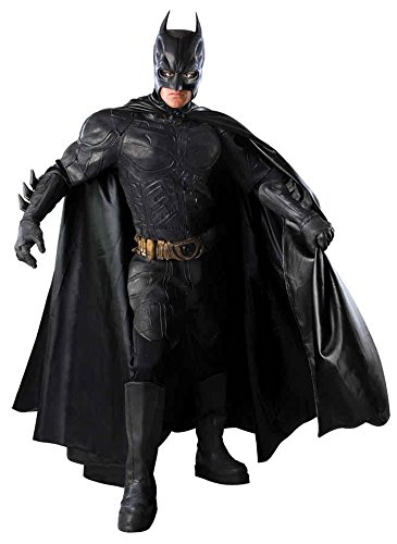 Deluxe Collectors Batman Costumes (UHC Men's Deluxe Batman The Dark Knight Grand Heritage Collector Costume, Medium (38-40))