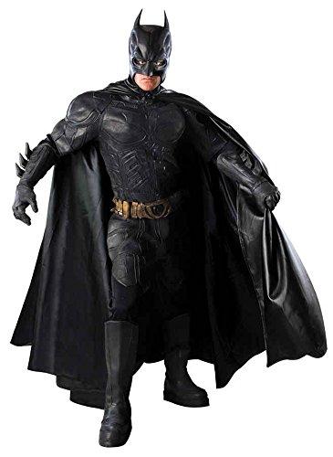 UHC Men's Deluxe Batman The Dark Knight Grand Heritage Collector Costume, Medium (38-40)