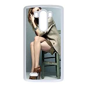 LG G3 Cell Phone Case White_Emma Roberts Yvpcm