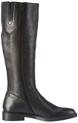 Bprivate H0602X - Botas altas para mujer Negro (Nero)