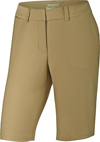 Nike Golf CLOSEOUT Women's Bermuda Tournament Shorts (Khaki) (4) by Nike