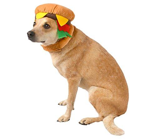 Hyde & Eek Pet Burger Costume L/XL]()