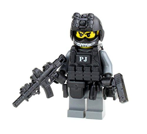 Battle Brick US Air Force PJ Commando Soldier (SKU10) Custom Minifigure