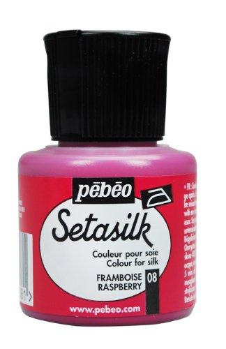 Pebeo Setasilk Painting 45 Milliliter Raspberry