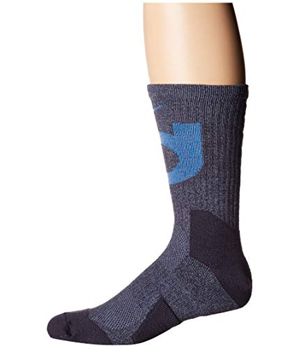 Nike KD Elite Basketball Crew Socks (Large, Gridiron/Signal Blue/Ashen Blue) (Basketball Owls)