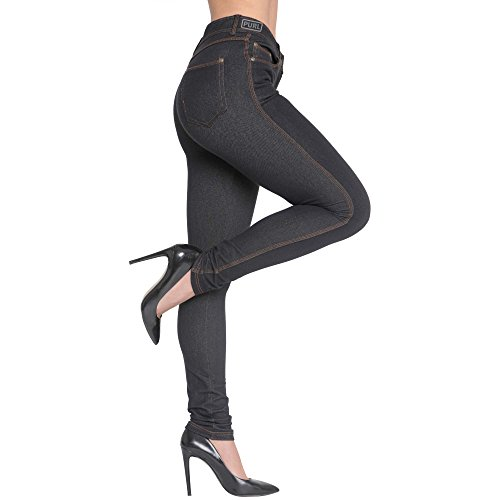 Jeans Vaquero Uk Jeggings Fashions 8 Stretch Malaika® Talla Trends Pantalones Denim By Color nbsp;– Ladies De Wasted Fit Mujer Made Azul nbsp;26 Plus Alta Skinny ZS8wHF