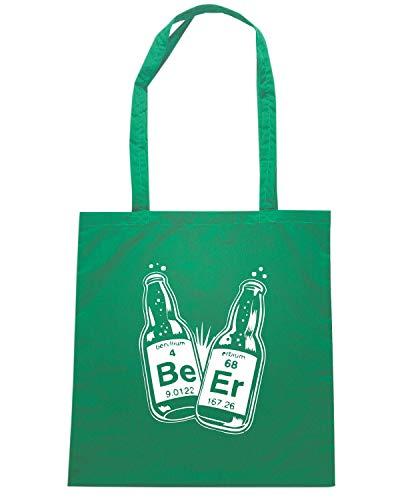 Speed Shirt Borsa Shopper Verde FUN0742 BEER SCIENCEAIL