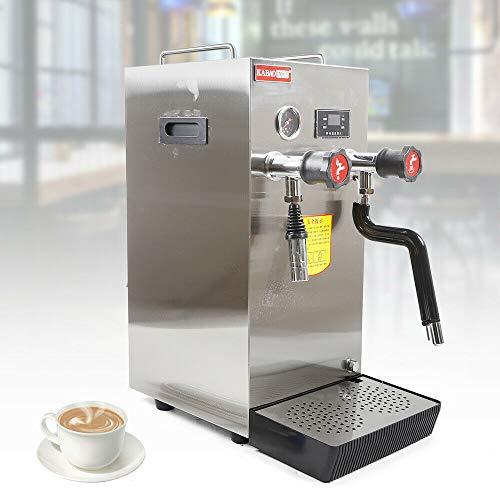 Espresso Machine – Commericial Professional Espresso Coffee Milk Machine Steam Water Boiling Machine Tea Coffee Foaming Device 110V