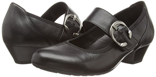Gabor Women's, Ousby, Mary Jane Black (Black Leather)