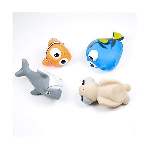 MOOKLIN 6pcs Giocattoli da Bagnetto per Bambini, Pupazzetti per Il Bagno, Galleggianti Che Spruzzano, a Tema Animale da… 5