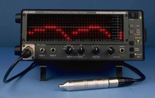 Audio Control SA3052 Real Time Spectrum Analyzer w/ Battery & Port