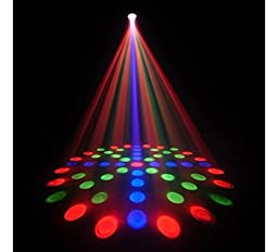 CHAUVET DJ LX-5 Moonflower Effect LED Party Light w/Selectable Sound or Automatic Functions