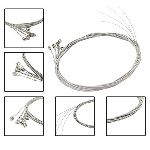 6 Unids//set Cuerdas de Guitarra El/éctrica N/úcleo de Acero Aleaci/ón de N/íquel Herida Cuerdas de Repuesto para Instrumentos Musicales fghfhfgjdfj