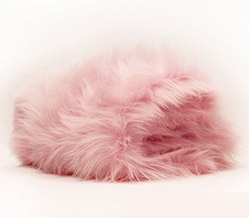 Faux Fur Luxury Shag White 60 Inch Wide Fabric By the Yard F.E.xae