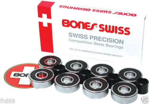 Bones Original Swiss Competition Skate Bearings