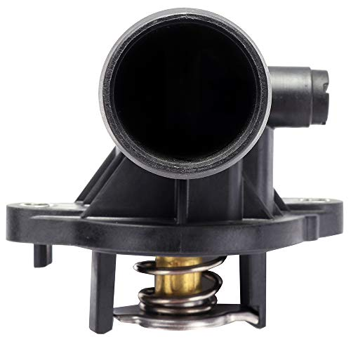 ROADFAR Engine Coolant Thermostat 5184651AG 902-852 Fit for 2011 2012 2013 2014 2015 Dodge Durango,2011 2012 2013 2014 2015 2016 2017 2018 Jeep Wrangler/Grand Cherokee Thermostat Housing Assembly