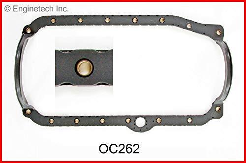 Enginetech OC262 GSKT Oil PAN CHEV 4.3L 262