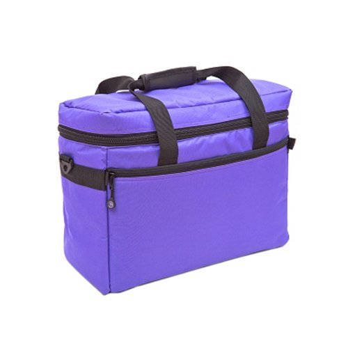 BluFig CB18 Sewing Machine or Project Tote in Purple BlueFig