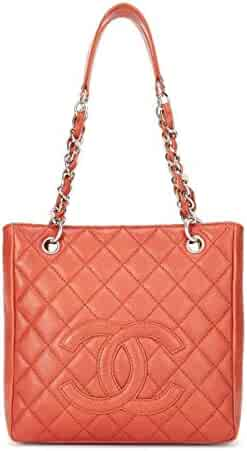 874b113ab7b1 seller: What Goes Around Comes Around. (0). CHANEL Red Quilted Caviar  Petite Shopping Tote (PST) (Pre-Owned)