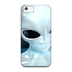 Protection Case For Iphone 5c / Case Cover For Iphone(3d Ufo Hd)