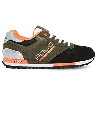 Polo Ralph Lauren - Zapatillas para Hombre Verde Verde Verde Size: 41: Amazon.es: Zapatos y complementos