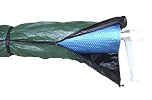 Horizon Ventures HVWCR28 Winter Jacket Stores Poolside Solar Blankets and Reels, 28', Green