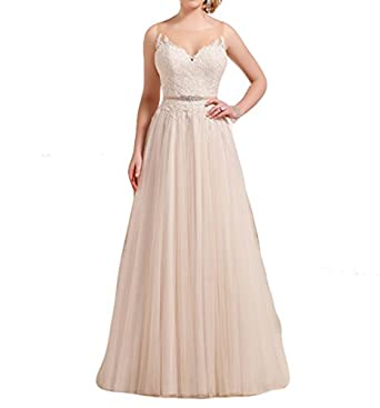 Mr.ace Homme Illusion Sheer Lace vestidos de novia Sleeveless Bridal
