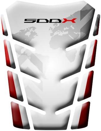 Protector para tanque de moto Honda CB 500 X GP-182. blanco: Amazon.es: Coche y moto