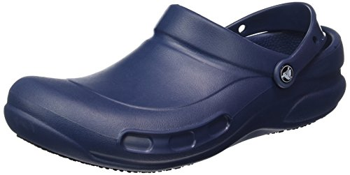 crocs Unisex Bistro Mule,  Navy, 15 US Men's / 17 US Women's
