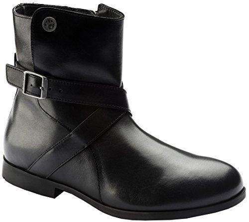 Birkenstock Women's Collins Boot Black Leather Size 38 M EU by Birkenstock