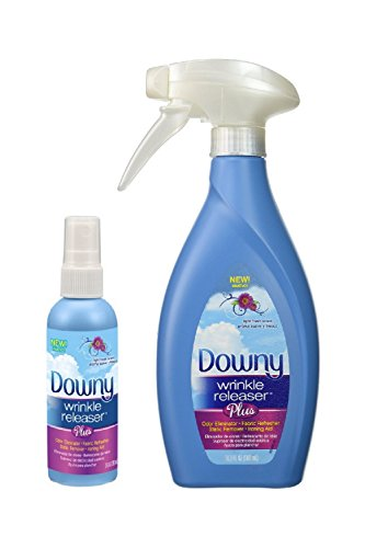 Downy Wrinkle Releaser Plus 16.9 fl oz with Travel Size Spray 3 fl oz - Combo Pack - Spray Combo