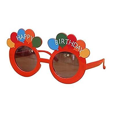 Amazon.com: Wetietir Gafas de fiesta de cumpleaños para ...