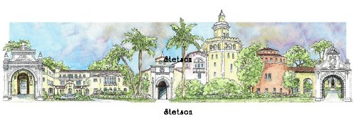 Stetson College of Law - Collegiate Sculptured Ornament by Sculptured Watercolor Ornaments (Image #3)