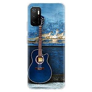 Fashionury Designer Soft Back Cover Case Compatible for Redmi Note 10T 5G/ Poco M3 Pro 5G -D039