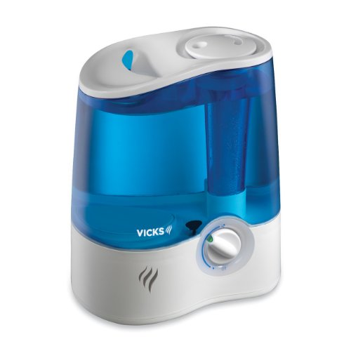 (Vicks Ultrasonic Humidifier Cool Mist Humidifier to Help Relieve Cold and Flu Symptoms)