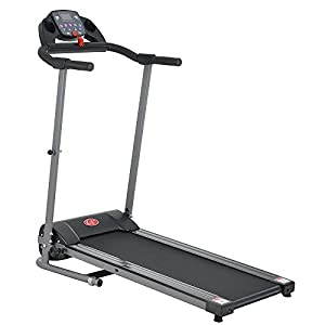 Z ZTDM 4 Feet Foldable Treadmills for Home Office Running Walking Use, Electric 500W Power Saving Under 220lbs (without Armrest)