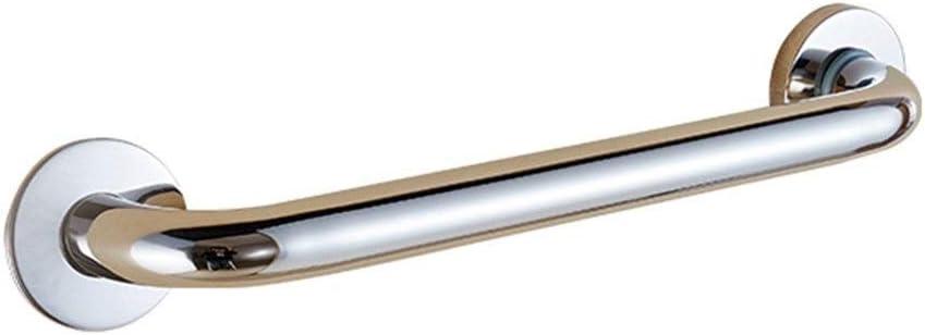 HJXSXHZ366 Barandilla Auxiliar de Ancianos Bares Seguridad en el baño for Silla de Ruedas accesible en el baño baño de Acero Inoxidable 304 for Personas de Movilidad Reducida (Color : 48cm)