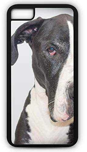 iPhone 8 Case Great Dane Gentle Giant Deutsche Doggie German Mastiff Customizable by TYD Designs in Black -