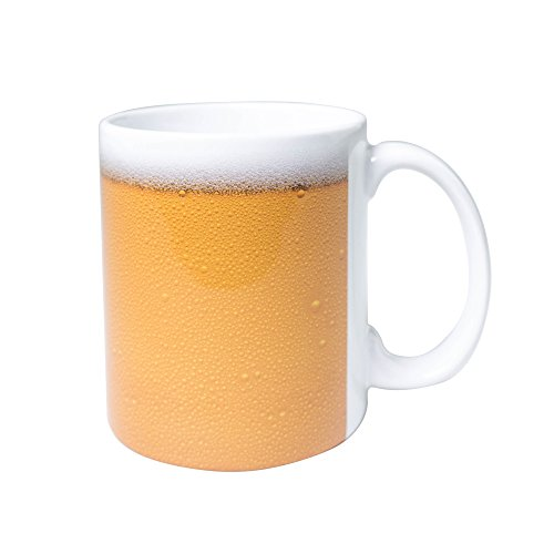 Beer Print - 11 Ounce Coffee Mug - By 30 Watt
