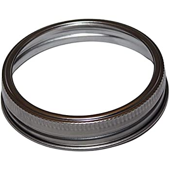 Stainless Steel Rings For Wide Mouth Mason Jars