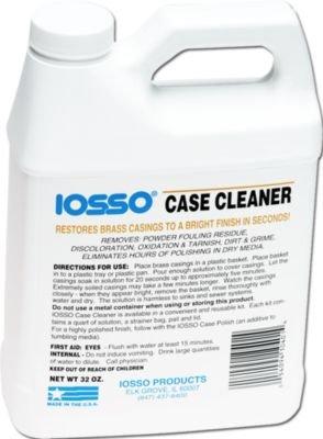 Iosso Brass Case Cleaner 32 oz Liquid