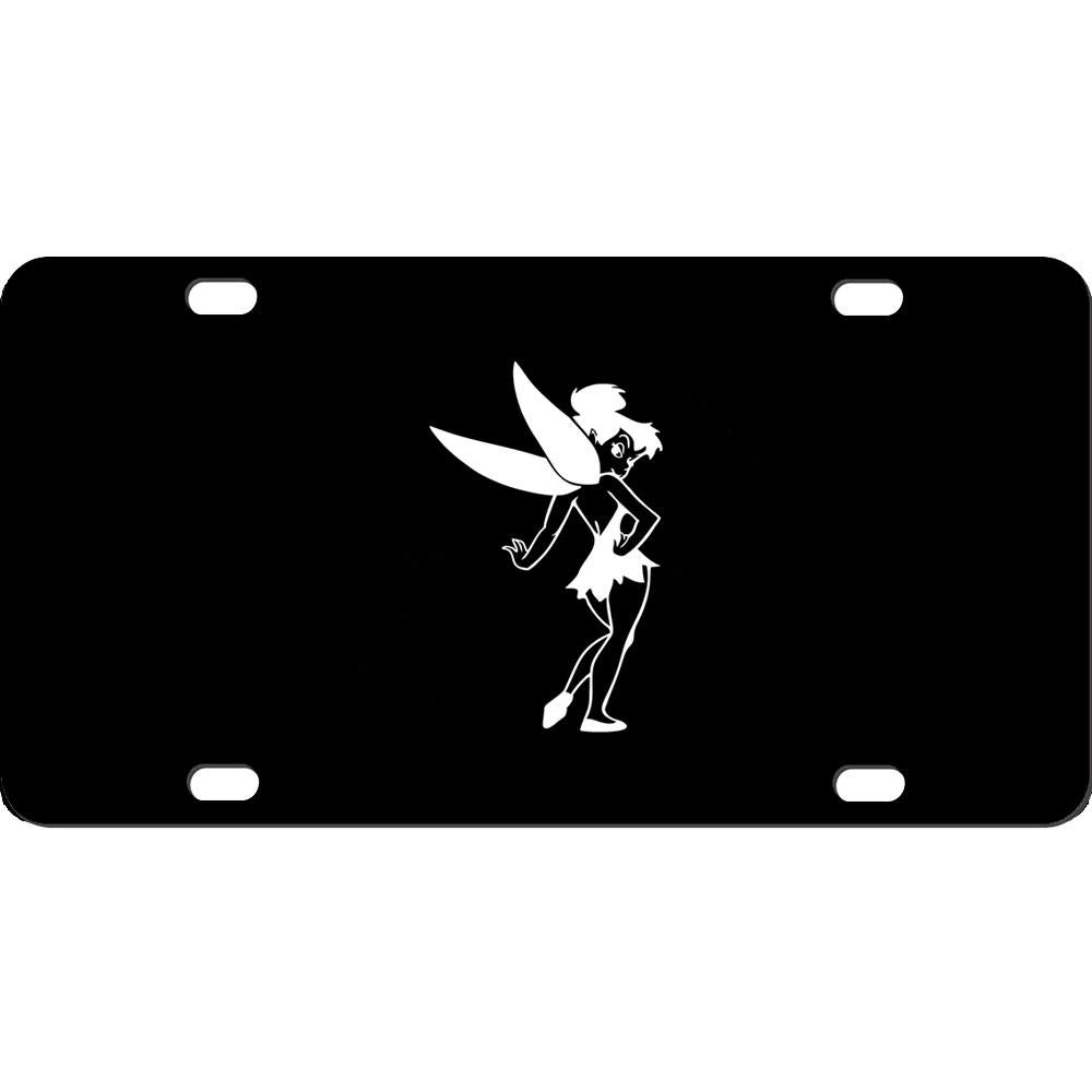 12 X 6 Humor Funny Front Auto Car Sign Tag for US Vehicles 4 Holes URCustomPro Personalized Black License Plates Cover