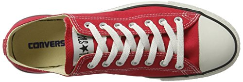 Converse All Star Ox - - Unisex adulto Rojo (Red)