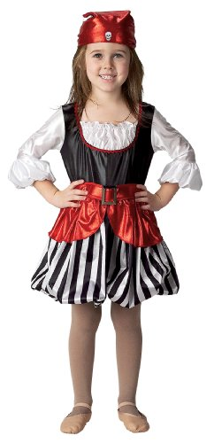 Get Real Gear Pirate Girl with Headscarf, Size 2/3