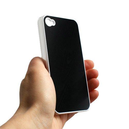 System-S Protector Case Schutzhülle in Schwarz für Apple iPhone 4