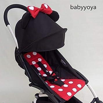 Amazon.com: Yoya - Cojín para asiento de bebé con capucha ...