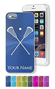 "iPhone 5/5S Case/Cover - LACROSSE STICKS - Personalized for FREE (Click the ""Contact Seller"