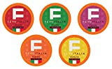 Fevo Italia Variety Pack Coffee Pods, Compatible with 2.0 K-Cup Brewers, 40 Count
