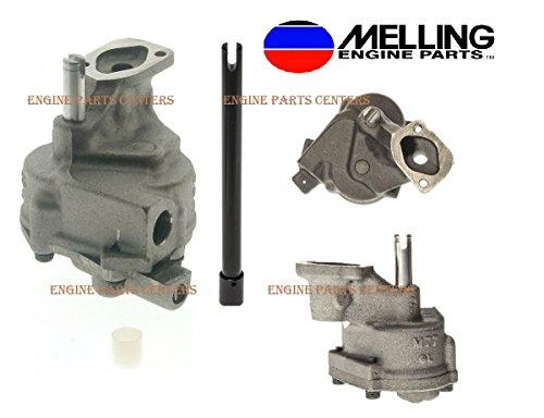 Melling Oil Pump & Drive Rod for Big Block Chevrolet GMC366 396 402 427 454 (Stock Pump)